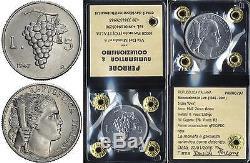 00948 Repubblica Italiana 5 Lire Uva 1947 Fdc Periziata