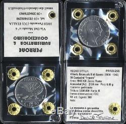 0304 Regno Italia Vittorio Emanuele III 50 Centesimi 1943 Fdc Periziata