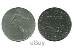 1/2 Franc Semeuse Nickel 1964