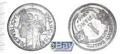 1 Franc Graziani (zinc) 1943, Fdc