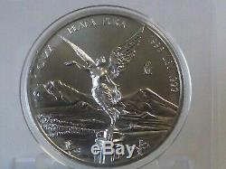 1 Oz Coin Mexico Libertad 1998 Key Date Silver Plata 999 Bu Fdc Mint State