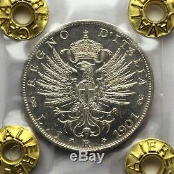 1 lira 1901 Aquila Sabauda FDC Perizia F. Cavaliere
