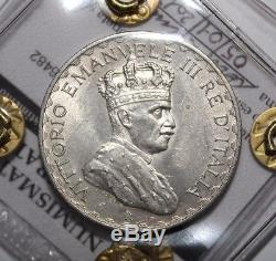 10 Lire 1925 Somalia Italiana Re Vittorio Emanuele III raro FDC