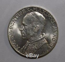 10 Lire 1941 Città del Vaticano Papa Pio XII raro FDC eccezionale
