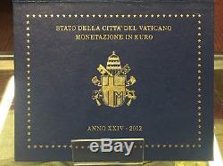 161 VATICANO Giovanni Paolo II Divisionale della Zecca anno 2002 FDC