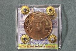 161 VITT. EMANUELE III Buono da 20 Cent. Mi 1906 FDC STATO ZECCA, RAME ROSSO
