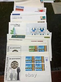 1800++ UN FDC, 60 Souvenir Cards collection & More $4,000+++Low BUY IT Now