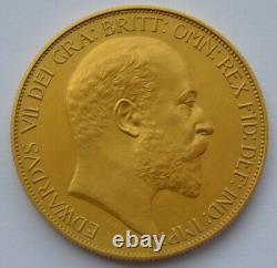 1902 Gold Proof £5 Five Pound Sovereign FDC