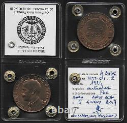 1924 Italia Somalia VE III 4 Bese rame FDC