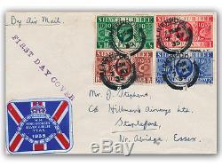 1935 Silver Jubilee FDC Liverpool CDS