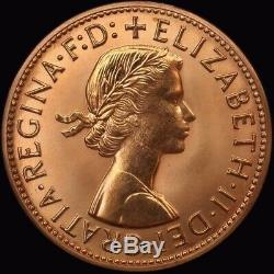 1957 Perth Proof Penny about FDC