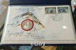 1978 Nepal FDC 25th Anniversary First Ascent of Mount Everest Commemorative PNC