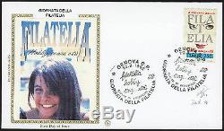 1992 Italia L. 750 Dentellato 14 Giornata Della Filatelia