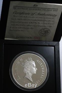 1993 Australia Kookaburra $10 10oz Silver Proof Coin 3500 Minted FDC Rare