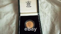 1994 Bank of England PROOF £2 DOUBLE SOVEREIGN MULE no Two Pounds RARE Error FDC
