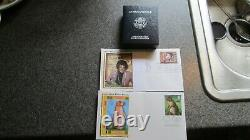 1994 P AMERICAN SILVER EAGLE PROOF $1 withBOX & COA, 14 FIRST DAY COVERS, WOMEN