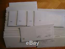 1999-2008 State Quarter First Day Covers Original Envelopes Q10-q59 + Bonus