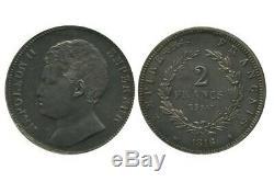 2 Francs Napoléon II Essai En Argent 1816