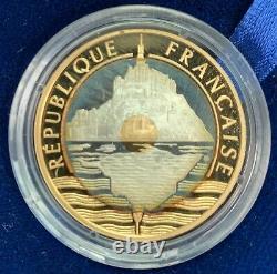 20 Francs Or Mont Saint Michel 1992 Épreuve Or Très Rare