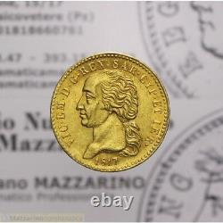20 Lire 1817 7 su 6 Torino (Sardegna Vittorio Emanuele I) SPL-FDC LOT1957