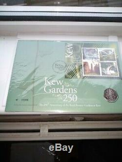 2009 FIRST DAY COIN COVER KEW GARDENS 50P FIFTY PENCE RICHMOND 19/05/09 No 05395