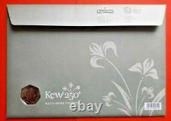 2009 KEW GARDENS 50p In BRILLIANT UNCIRCULATED FDC COIN. FROM THE ROYAL MINT