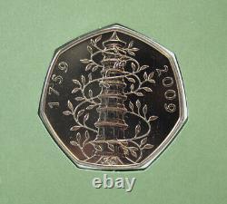 2009 UK 50p Kew Gardens BU FDC No. 03201
