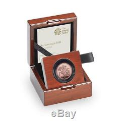 2018 Gold Proof Full Sovereign Sapphire Mint Mark Pound Fdc Condition