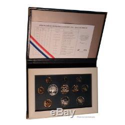 #23944 Monnaie, France, Proof Set Franc, 1993, Paris, FDC, Gadourypage 289