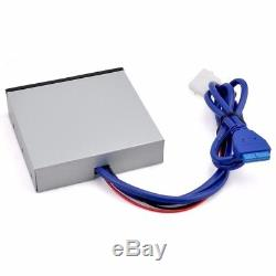 3.5 Inch Floppy Bit All-in-1 Multi-Function USB 3.0 Card Reader Front Panel Hub