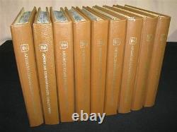 323 USPS First Day Issues 9 Binders First Day Stamps 1978-1987 in Booklets