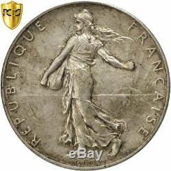 #482207 Monnaie, France, Semeuse, 2 Francs, 1928, Paris, Piéfort, PCGS, SP65