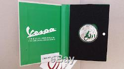 5 euro Italia 2019 FdC Italie Italy Italien VESPA verde green verte grüne groene