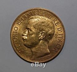 50 Lire 1911 Cinquantenario Regno d'Italia Re Vittorio Emanuele III raro FDC