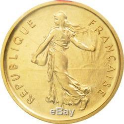 #511542 Monnaie, France, Semeuse, 5 Francs, 1970, Piéfort, FDC, Or, KMP410