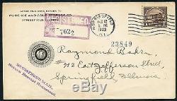 #571 Fdc 02/12/23 Springfield, Ill. (17 Known) Rare CV $7,500 Wlm926 Gpc18