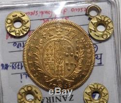 6 Ducati 1768 Oncia napoletana del 7° tipo Regno di Napoli (R2) SPL / FDC