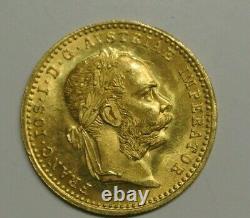 AUTRICHE DUCAT OR /GOLD 1915 poids 3gr49 OR 986 Millièmes quasi pur SPL /FDC