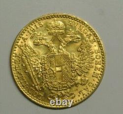AUTRICHE DUCAT OR /GOLD 1915 poids 3gr49 OR 986 millièmes presque pur SPL /FDC