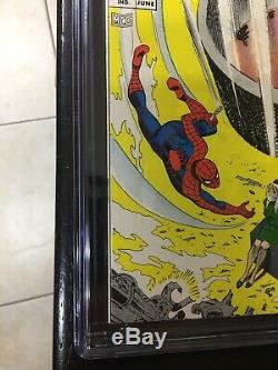 Amazing Spider-Man 61 CGC 9.4 OW To W 1st Gwen Stacy Cover Nice 5 Day No Reserve