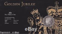 Australia 2002 Queen Elizabeth 2 Golden Jubilee Accession PNC/FDC