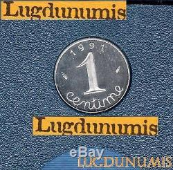 BE 1 Centime Epi 1991 FDC 6 232 Exemplaires Provenant du Coffret BE