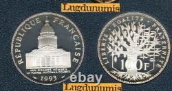 BE 1993 100 Francs Panthéon 1993 BE FDC 5309 Exemplaires Provenant du Coffret BE