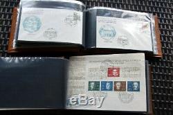BRD Tolle Sammlung Belege mit hochwertigen Frankaturen Gute FDC etc. Hoher Wert