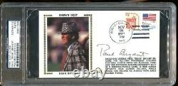 Bear Bryant Signed First Day Cover FDC Autographed Alabama PSA/DNA 1999