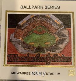 Bob Uecker (rare) Signed Z-Silk Cachet First Day Cover Milwaukee County Stadium