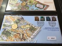 Bridges Definitive Coin Cover Collection £1 pound FDC PNC Royal Mint Mail folder