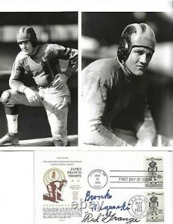Bronko Nagurski & Red Grange Chicago Bears Football Autographed First Day Cover