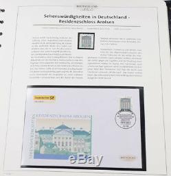 Bundesrepublik 2004 bis 2010 Deutschland exclusiv postfrisch + FDC komplett