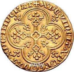 CHARLES IV LE BEL Agnel d'or Etat exceptionnel Plus bel exemplaire connu FDC